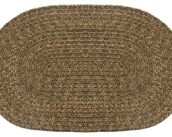 Yukon Brown Braided Rug