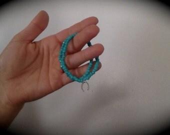 Tiny beaded wrap bracelet