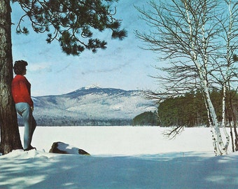 Vintage Post Card, MT. Chocorua, White Mountains, New Hampshire