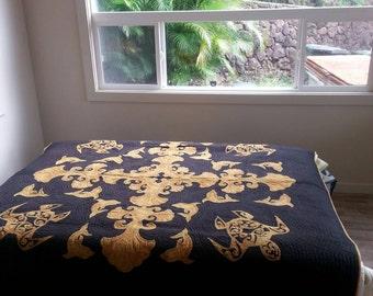 Honu Hawaiian quilt