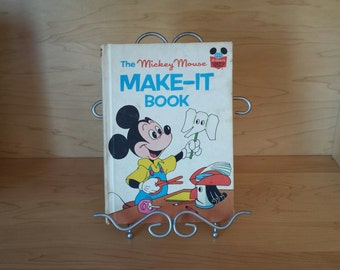 Disney's The Mickey Mouse Make - It Book 1974