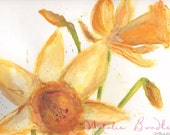 Daffodil Flower Art Print...