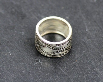 OVAMBO 1 - African ring / 925 Silver size 58