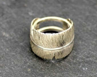 MALAIKA 2 - ring made of silver in the form of spring