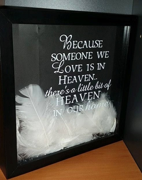 Feathers From Heaven Quotes Feathers Heaven Quote Box