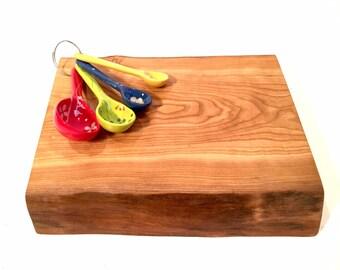 All Natural Live Edge Wood Cutting Board