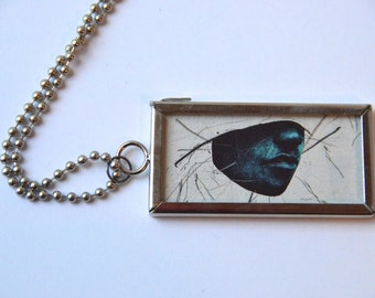 Ghostly Face - Pendant Necklace