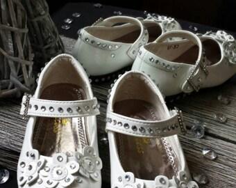Flower Girl Shoes Child's UK 5
