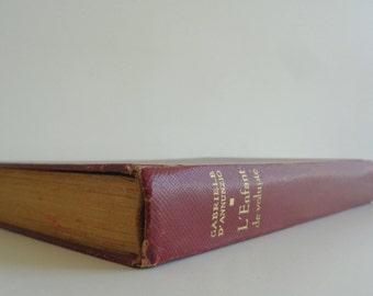L'enfant De Volupté by Gabriele D'Annunzio, published in