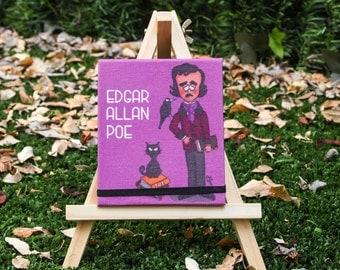 Edgar Allan Poe Mini Notebook
