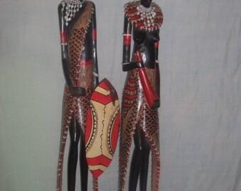 Masai couple
