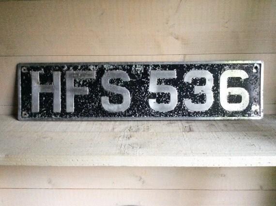 Vintage Vehicle Registration 35