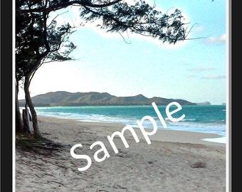 Hawaii greeting card - Island greeting