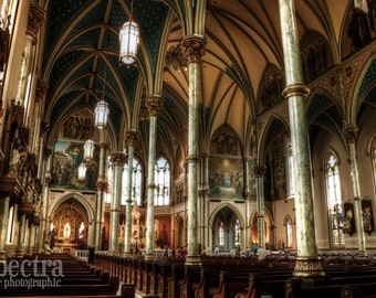 Savannah, Georgia St. John the Baptist Cathedral Fine Art Photographic Print