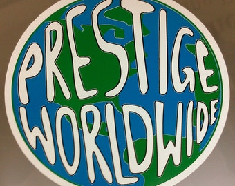 PRESTIGE WORLDWIDE sticker decal step brothers