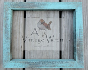 Rustic frame/ Hand made frame/ Barn board frame/ Farmhouse decor/ Rustic wedding/ Picture frame/Painted Rustic frame