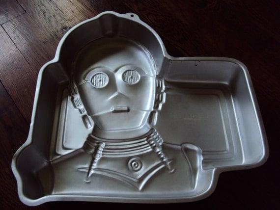 Star Wars C3po Cake Pan