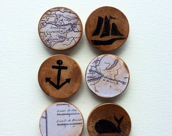 Land & Sea magnet collection
