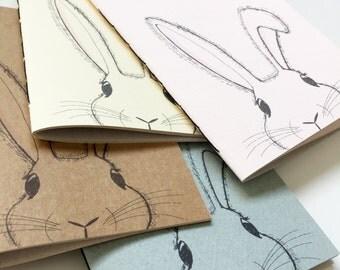 Bunny - Handmade notebook