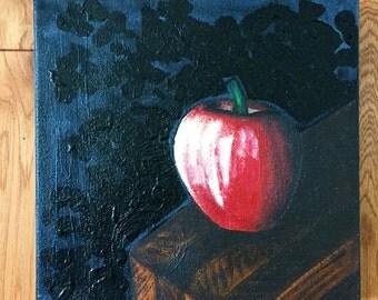 Apple in studio