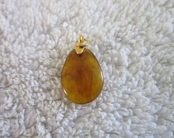Vintage Faux Stone Charm Bracelet Charm