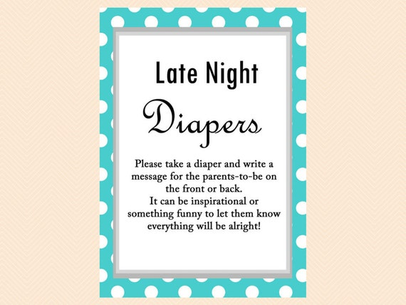 Late Night Diapers Diaper Thoughts Words For Wee Hours