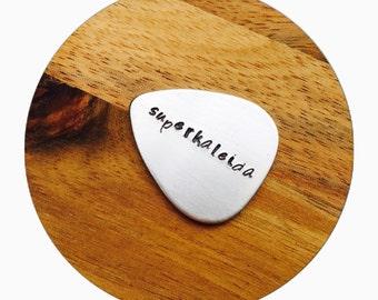 Christmas Gift | Guitar Pick | Custom Guitar Pick | Gift for him | Personal Gift | Musician Gift