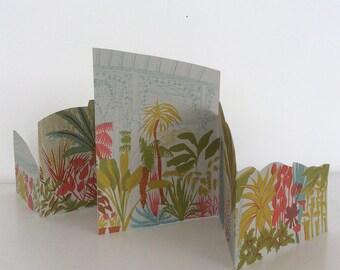Botanic Gardens Concertina Book