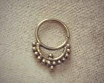 HANDMADE brass Septum nose piercing