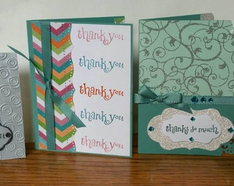 Thank You Cards - set of 4!