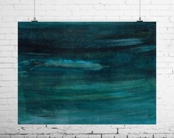 e n e r g y s c a p e s - Abstract Art Print from Original Acrylic Painting | Unframed Abstract Art Print