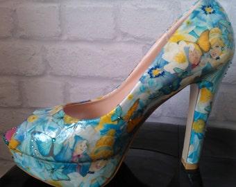 Cinderella customised shoes