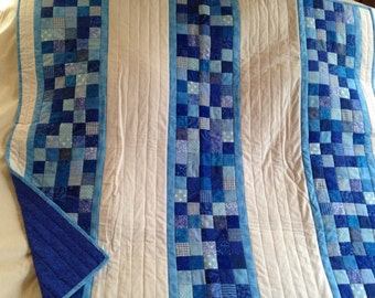 I've Got the Blues Baby Quilt