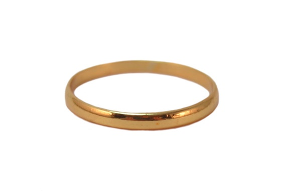 simple gold band gold ring simple gold by shimmermethisdesigns