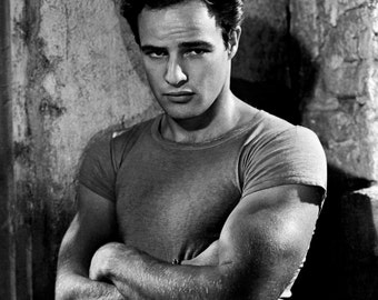 Marlon Brando Iconic Hollywood Poster Art Photo 11x14