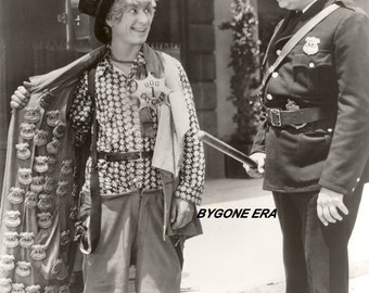 Harpo Marx The Marx Brothers Hollywood Silent Movie Star Poster Art Artwork Photo 11x14