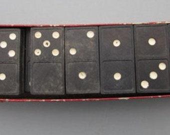 Vintage Domino Set