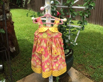 Little sun dress, size 3
