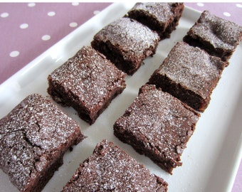 Gluten Free Chocolate, Fruit and Nut Brownies