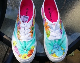 Women's VANS for Customization - Design on side of shoes ONLY