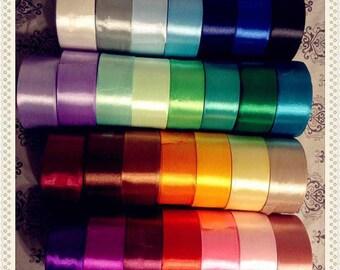 29yards, bulk Wholesale silky ribbon 1.5inches 3.8cm,satin ribbon,double sided ribbon