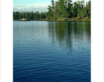 Liquid Gradation, Boundary Waters Canoe Area, BWCA, Northern Minnesota, Lakes, Adventure, Camping, Fishing, Red Rock Lake