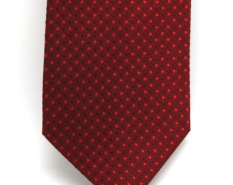 Mens Red Silk Tie