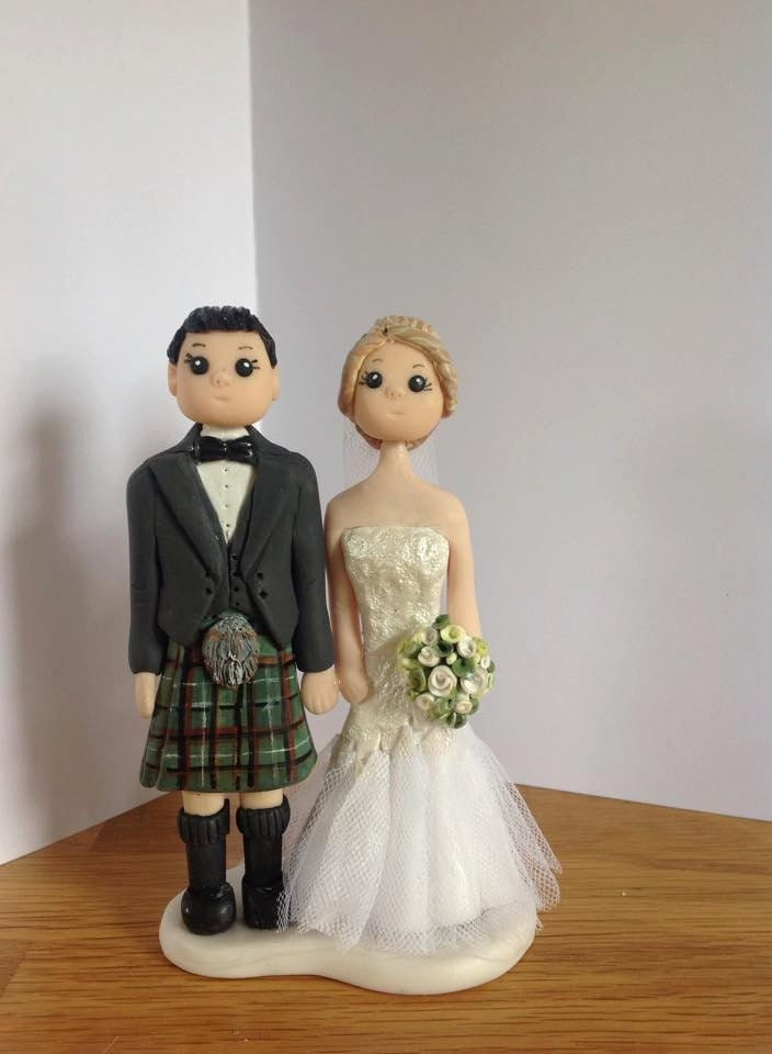 cheeky scottish wedding cake toppers cheeky scottish wedding cake topper bridegroom in 12550