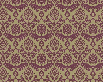 Traditions Bordeaux Hemp fabric