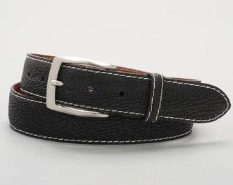 Genuine, Handmade Shark Skin Belt