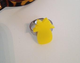 Yellow Pineapple Ring
