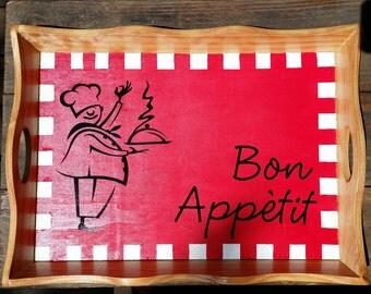 Bon Appetit Chef Tray
