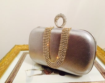 Evening bag- formal clutch bag- wedding clutch bag