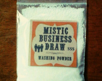 Mistic Business Draw Southern Folk Magic Washing Powder
